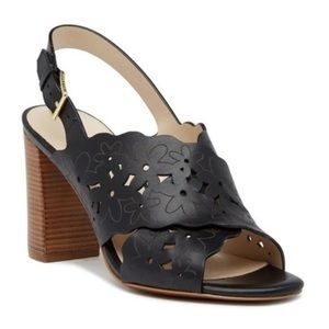 Cole Haan Womens Indra High Floral Sandal II 10